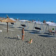 Пляж «Бархатные сезоны» фотографии