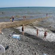 Пляж «Солнечный» фотографии