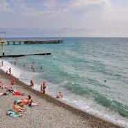Пляж «Фрегат» фотографии