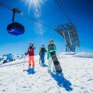 Открытый кубок курорта «Газпром» по горным лыжам и сноуборду 2019 фотографии