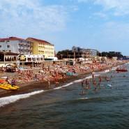 Пляж «Огонек» фотографии