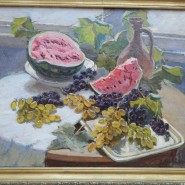 Выставка восстановленных картин Леонида Лучевского фотографии