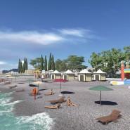 Пляж Кудепсты «Робинзон» фотографии