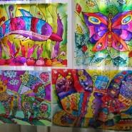 Выставка-конкурс творческих работ «Весенняя палитра – 2018» фотографии