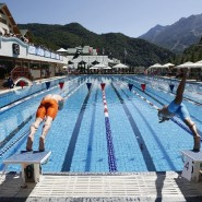 Тренировка по плаванию на курорте «Газпром» 2021 фотографии