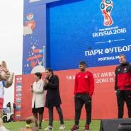 Горный парк футбола на «Роза Хутор» 2018 фотографии