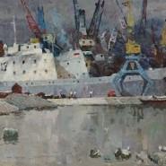 Выставка «Русский пейзаж. Художники России 1940-2010 годов» фотографии