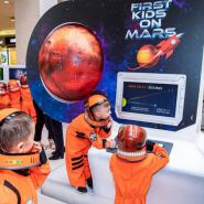 Выставка «Первые дети на Марсе» фотографии