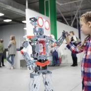 Интерактивная выставка роботов и технологий «Роботека» фотографии