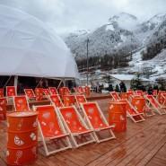Кинотеатр в горах на курорте «Красная Поляна» фотографии