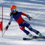 Соревнования по горнолыжному спорту 2018 фотографии