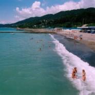 Пляж санатория «Фазотрон» фотографии