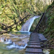 Водопад Псыдах и Шапсуг фотографии