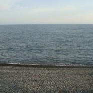 Пляж санатория «Искра» фотографии