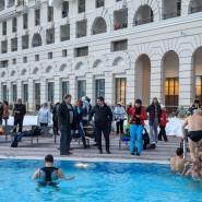 Крещенские купания на курорте «Газпром» 2019 фотографии