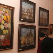 Выставка «Волшебство акварели. Мастер и ученик» фотографии