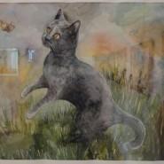 Выставка «Кошка, которая гуляет сама по себе» фотографии