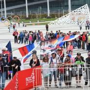 Развлекательная программа на гонках «Формула-1» 2018 фотографии