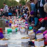 Фестиваль водных фонариков «Мечтами по воде» 2017 фотографии