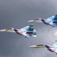 Выступление пилотажной группы «Соколы России» 2017 фотографии