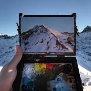 Проект «Один день из жизни гор: по следам Клода Моне» фотографии