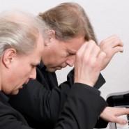 Онлайн-концерт дуэта пианистов Эдуарда и Йоханнеса Кутроватц 2020 фотографии