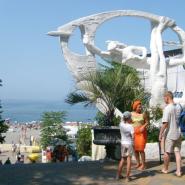 Пляж «Ривьера» фотографии
