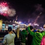 Новый год на Роза Хутор 2018 фотографии