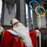 Новогоднее шоу в Олимпийском парке 2017 фотографии