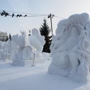 Фестиваль резьбы по снегу «Снежная Поляна» 2019 фотографии