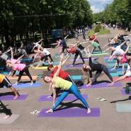 Международный день йоги на «Роза Хутор» 2018 фотографии