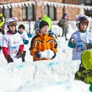 «День снега» на курорте «Горки город» 2019 фотографии