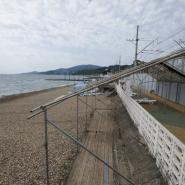 Пляж санатория «Южный» фотографии