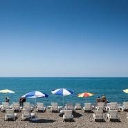 Пляж «Знание» в Адлере фотографии