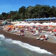Пляж гостиницы «Жемчужина» фотографии