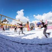 Чемпионат по волейболу на снегу 2020 фотографии