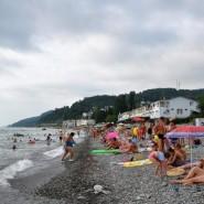 Пляж «Прозрачный» фотографии