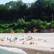Пляж «Ласточка» фотографии