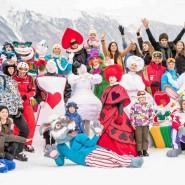 Новогодние праздники на курорте «Горки Город» 2018 фотографии
