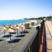 Пляж Олимпийского парка фотографии