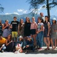 Йога-тур для детей на «Роза Хутор» 2017 фотографии