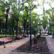 Парк «Поцелуевский сквер» фотографии