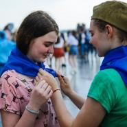 Акция «Синий платочек» 2020 фотографии