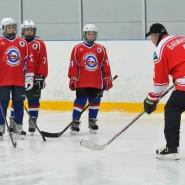 Мастер-класс по хоккею в ЛД «Айсберг» 2017 фотографии