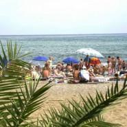 Пляж отеля «Сон у моря» фотографии
