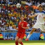 Футбольный матч «Россия» — «Бельгия» 2017 фотографии