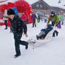«День снега» на курорте «Красная Поляна» 2020