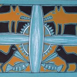 Выставка Василисы Дарсания «Путь к себе»