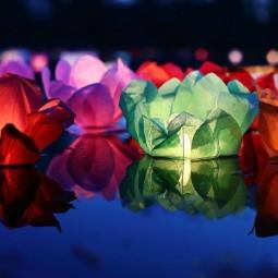 Фестиваль водных фонариков «Мечтами по воде» 2017