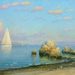 Выставка «Наедине с морем»
